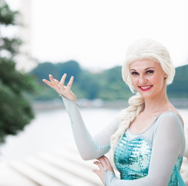 Elsa Princess party northen Virginia